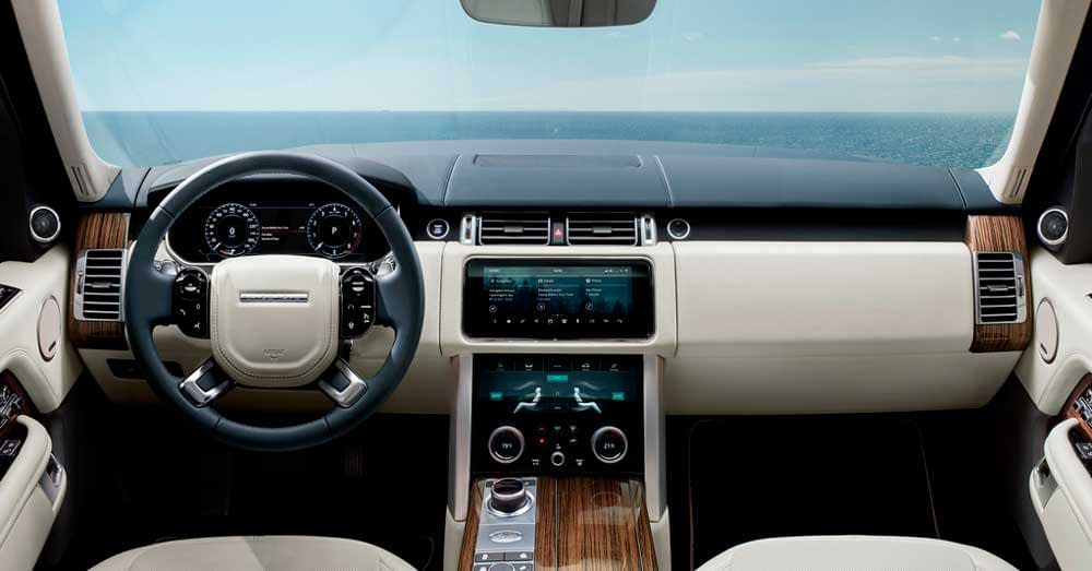 Rent Range Rover Vogue - Interior
